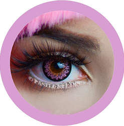 daisy g325 pink circle lenses by eos kawaii eyes,dolly eyes,cosplay lenses