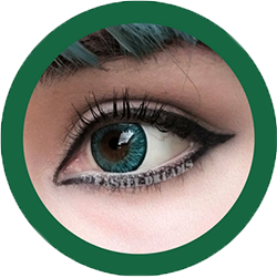 colors-of-the-wind-no-22 cow party green colour contacts, kawaii, cosplay lenses, colored lenses, cosplayer lenses