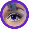 dolly 209 violet circle lenses by eos, contact lenses, cosplay lenses,korean lenses, uk retailer, colored lenses,dolly eyes. big eyes