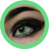 eos bubble green colored contact lenses cosplay lenses, circle lenses, colored contacts, costume lenses