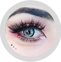 dolly 209 gray circle lenses by eos, contact lenses, cosplay lenses,korean lenses, uk retailer, colored lenses,dolly eyes. big eyes