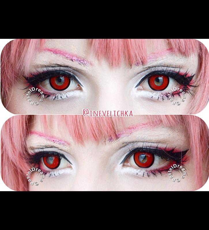 red manson contact lenses #krultepescosplay #owarinoseraph #owarinoseraphcosplay #krulcosplay #krultepes #dollymakeup #livingdoll #owarinoseraph