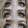 baby rose colored contact lenses by i-codi colors of the wind range