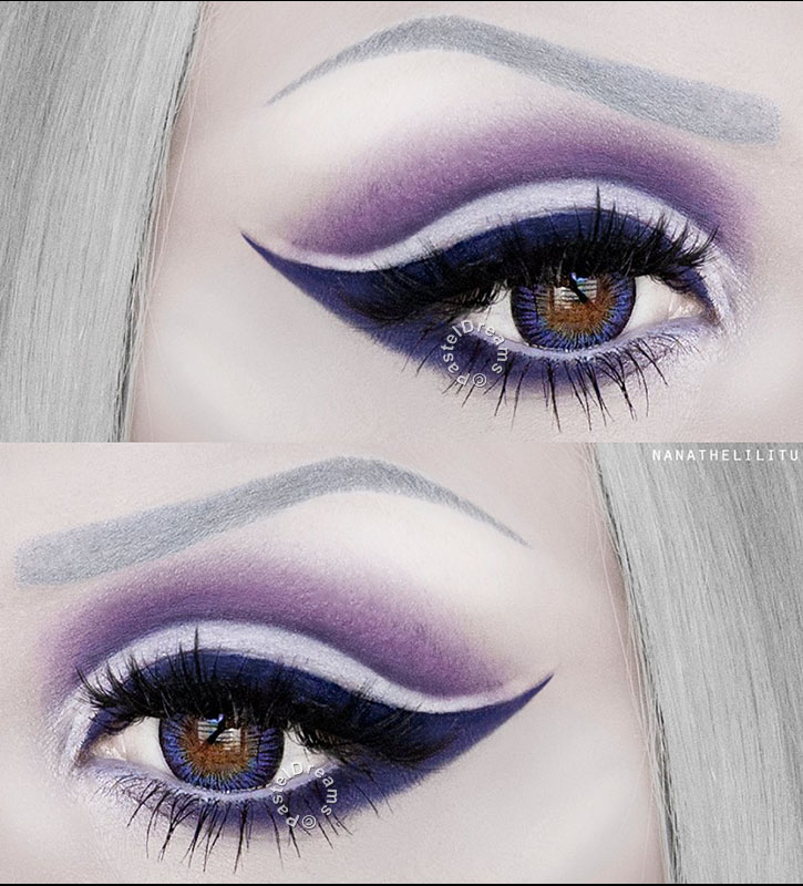 blue violet circle lenses by range colors of the wind of i-codi