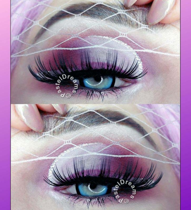 candy blue 208 EOS circle lenses colored contact lenses, blue contact lenses,dolly kawaii eyes