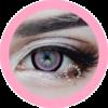 candy pink 208 EOS circle lenses colored contact lenses dolly eyes big eyes kawaii eyes lolita