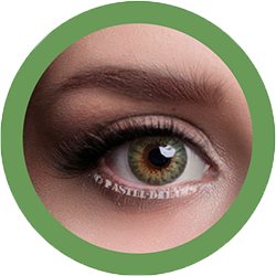 celestial 321 green contact lenses colored lenses, dolly eyes, korean lenses, natural colour lenses by eos