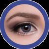 celestial 321 sapphire contact lenses colored lenses, dolly eyes, korean lenses, natural colour lenses by eos