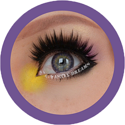 celestial 321 violet colored contact lenses, circle lenses by eos korean lenses, natural colour lenses