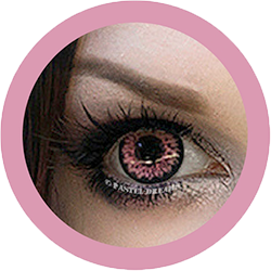 daisy g325 pink circle lenses by eos kawaii eyes,dolly eyes,cosplay lenses model @marydeslis