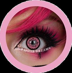 dolly pink V-209LB colored contact lenses by eos circle lenses big eyes dolly eyes