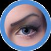 fay blue colored lenses, cosplay lenses,dolly eyes, costume lenses by eos korean lenses
