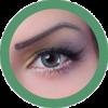 fay green colored lenses, cosplay lenses,dolly eyes, costume lenses by eos korean lenses