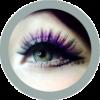 freshtone satin gray cosmetic colored contact lenses