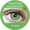 freshtone emerald green cosmetic colored contact lenses
