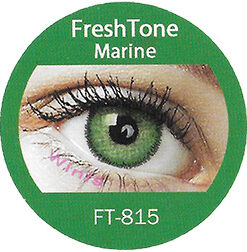 freshtone Marine colored contact lenses