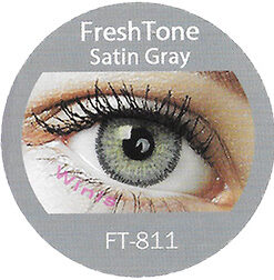 freshtone satin gray cosmetic colored contact lenses
