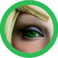 Green out halloween cosplay colored lenses colored contact lenses cosplay lenses, circle lenses, colored contacts, costume lenses