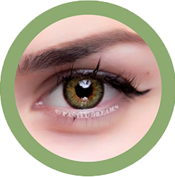 lotus 306 green contact lenses colored lenses, dolly eyes, natural lenses by eos