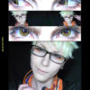 moonlight colored contact lenses from colors of the wind by i-codi model is Highness Cosplay