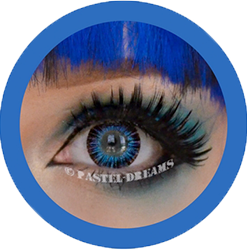 neon sign blue colored contact lenses cosplay lenses, circle lenses, colored contacts, costume lenses