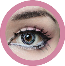 neon sign pink colored contact lenses cosplay lenses, circle lenses, colored contacts, costume lenses