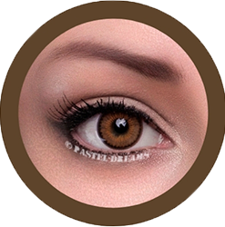 rainshower brown contact lenses colored lenses eos, korean, natural look model jenny