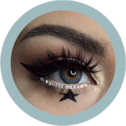 rainshower gray contact lenses colored lensed eos, korean, natural look model imogenhearts