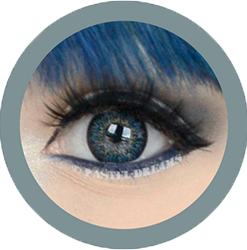 eos sunflower gray colored contact lenses cosplay lenses, circle lenses, colored contacts, costume lenses