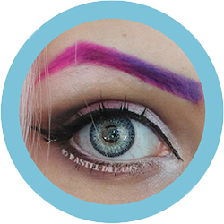 Topaz blue colour contact lenses, colored lenses, dolly eyes, natural lenses by freshtone premium range