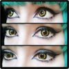 twilight colored contact lenses,theatrical lenses,cosplay, cosplay lenses, yellow lenses,halloween lenses