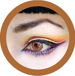 freshtone blends honey hazel colored contact lenses, cosmetic contact lenses, circle lenses, colored contacts,natural lenses,eye lens, coloured lenses