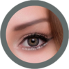 freshtone blends sugar gray cosmetic colored contact lenses, natural lenses,