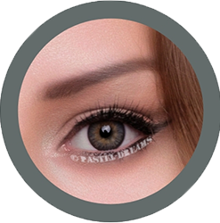 freshtone blends sugar gray cosmetic colored contact lenses, natural lenses,