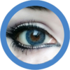 freshtone Ocean blue impressions cosmetic colored contact lenses