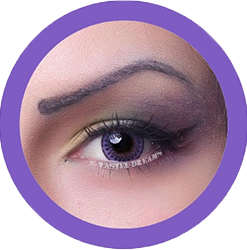 Lace g-213 violet purple by eos pattern circle lenses, kawaii,dolly eyes, colored lenses, contact lenses,