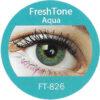 Freshtone blends aqua colored contact lenses cosmetic lens natural lenses korean