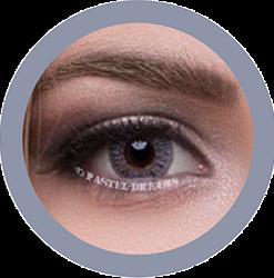 freshtone blends gray colored contact lenses cosmetic lens natural lenses korean lenses
