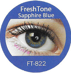 freshtone blends sapphire blue colored contact lenses