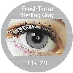 freshtone blends sterling gray colored contact lenses