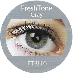 freshtone blends gray colored contact lenses