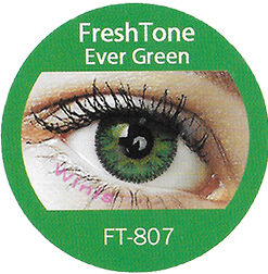 freshtone evergreen impressions cosmetic colored contact lenses