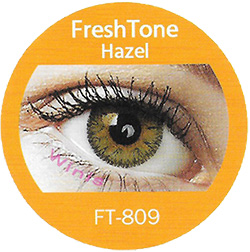 freshtone hazel impressions cosmetic colored contact lenses