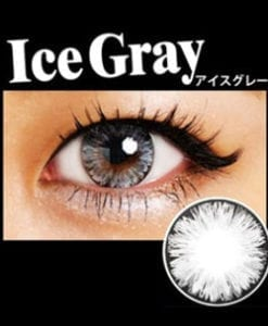 ice II gray by EOS circle lenses colored contact lenses dolly eyes big eyes kawaii eyes lolita