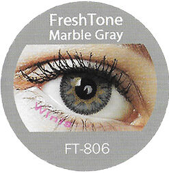 freshtone impression marble gray cosmetic colored contact lenses