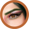 Freshtone colors of the wind orange colored contact lenses cosplay lenses, circle lenses, colored contacts, costume lenses