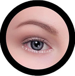 nabi black colored contact lenses, circle lenses, natural blend korean lenses by eos