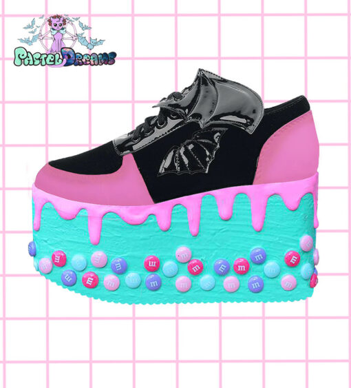 cdea33db777ab Candyholic Platform Trainers shoes
