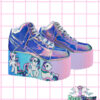 my little pony yru atlantis platform shoes,mlp, edm shoes, flatform, hand painted, kawaii, fairy kei, party kei, harajuku