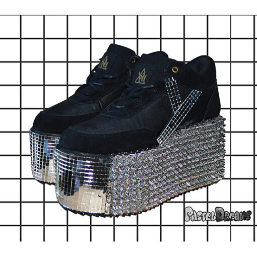 a9da099683b77 Deathdisco Platform Trainer shoes